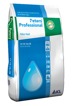 Peters Professional Foliar Feed 27-15-12+TE